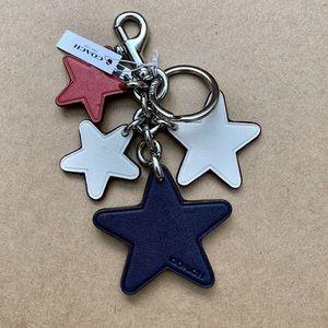 Coach Accessories - Coach Western Star Bag Charm Key Chain